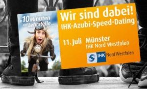 7. IHK-Azubi-Speed-Dating am 11. Juli in Münster