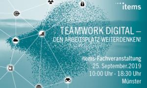 Teamwork digital- den Arbeitsplatz weiterdenken!