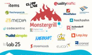 items sponsort Grillwurstbier: Tech Szene am Monstergrill