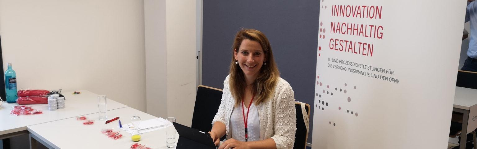 Lena Frömbsdorff beim Azubi Speed-Dating