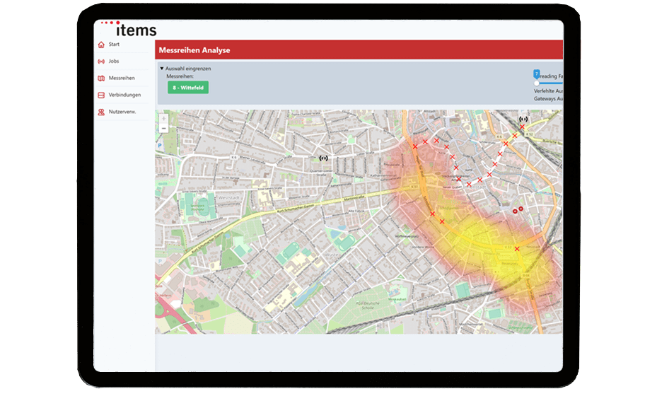 Grid Insight: LPWAN Heatmap